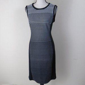 WHBM Black and White Dress Size 10